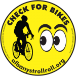 "The original AS&R ""Check for Bikes"" cling"
