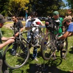 Street Level Cycles has graciously donated free bike tuneup services at the Arts & Green Festival since 2008 photo courtesy Matt McHugh