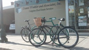 The Bike Bike Rack at Daniel Winkler & Associates is popular!