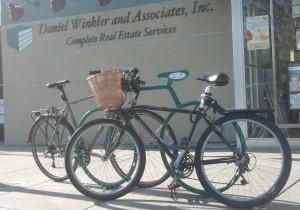 The Bike Bike Rack at Daniel Winkler & Associates is popular!