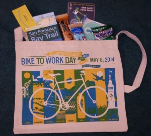 The musette bags are always filled with swag!
