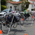 AS&R's Bike Valet Parking was hopping all day! Photo courtesy Angela Armendariz