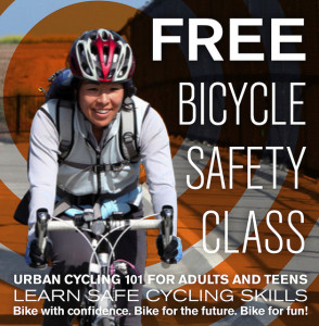 Come on down and learn how to ride a bike more safely - and have more fun!