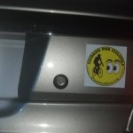 We also have the clings and bumper stickers in Spanish!
