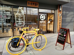 Pick up your Growler of Beer on your bike!