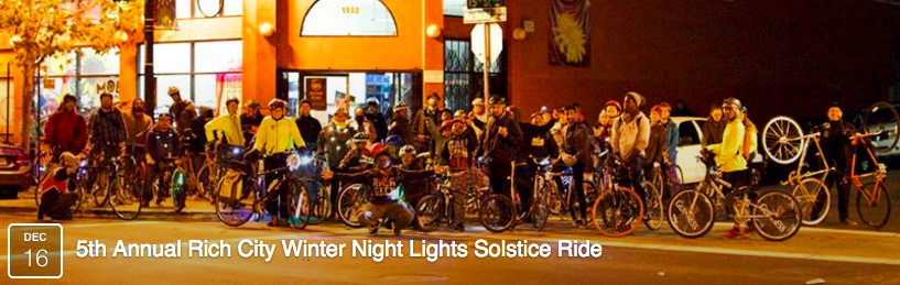CANCELLED - 5th Annual Rich City Winter Night Lights Solstice Ride @ Rich City Rides | Richmond | California | United States