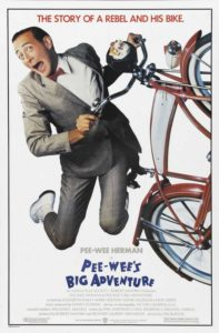 "Bike-In Movie - ""Pee-wee's Big Adventure"" @ Albany Community Center"