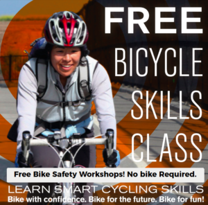 "FREE Bicycle Safety Workshop on ""Biking After Dark"" in Albany! @ Albany YMCA Annex"